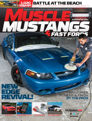 Muscle Mustangs & Fast Fords Aug 2019