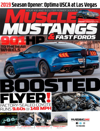 Muscle Mustangs & Fast Fords Sep 2019