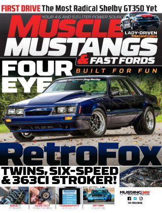 Muscle Mustangs & Fast Fords Oct 2019