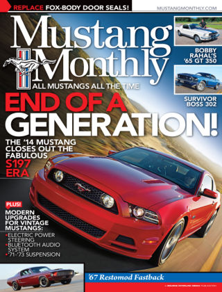Mustang Monthly January 2014