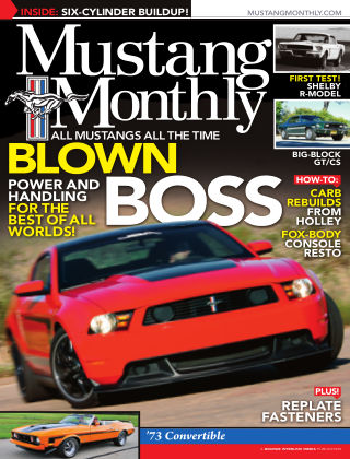 Mustang Monthly October 2013