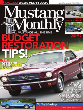 Mustang Monthly August 2013
