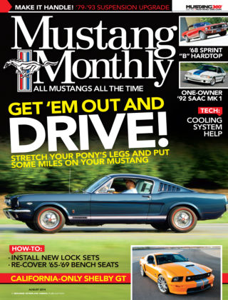 Mustang Monthly August 2014