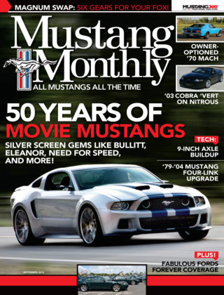 Mustang Monthly September 2014