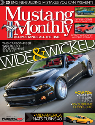 Mustang Monthly November 2014