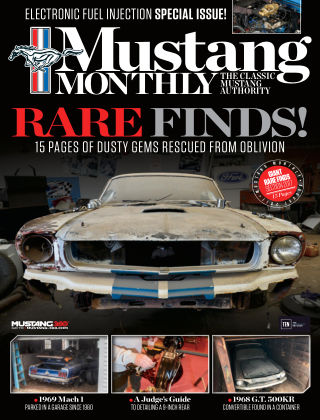 Mustang Monthly Aug 2017