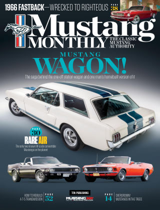 Mustang Monthly Aug 2019