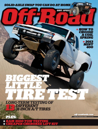 Dirt Sports + Off-Road September 2013