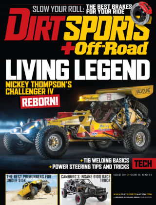 Dirt Sports + Off-Road August 2014