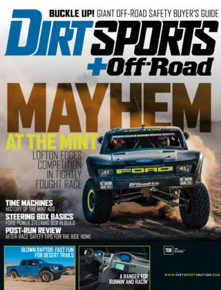 Dirt Sports + Off-Road August 2015