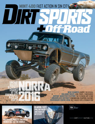 Dirt Sports + Off-Road Oct 2016