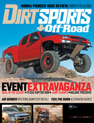 Dirt Sports + Off-Road Dec 2016