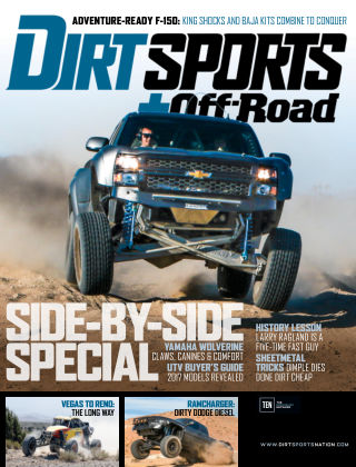 Dirt Sports + Off-Road Jan 2017