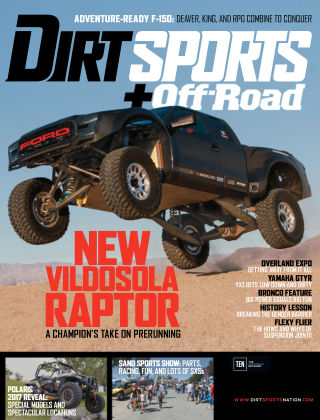 Dirt Sports + Off-Road Feb 2017