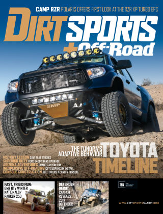 Dirt Sports + Off-Road May 2017