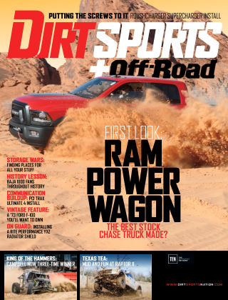 Dirt Sports + Off-Road Jul 2017