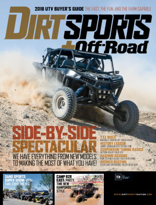 Dirt Sports + Off-Road Feb 2018