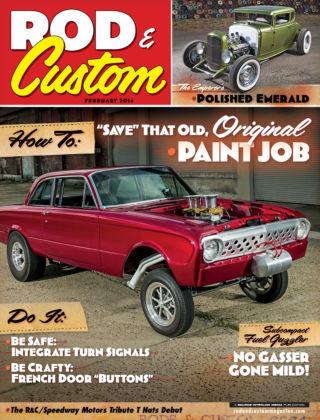 Rod & Custom February 2014