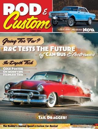 Rod & Custom April 2014