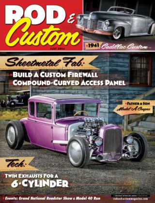Rod & Custom July 2014