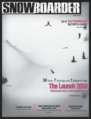 Snowboarder October 2014