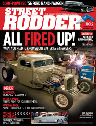 Street Rodder August 2013