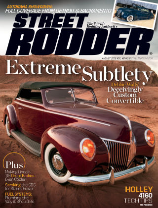 Street Rodder Aug 2019
