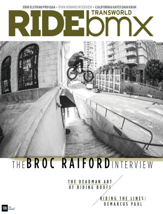 TransWorld Ride BMX July / August 2015