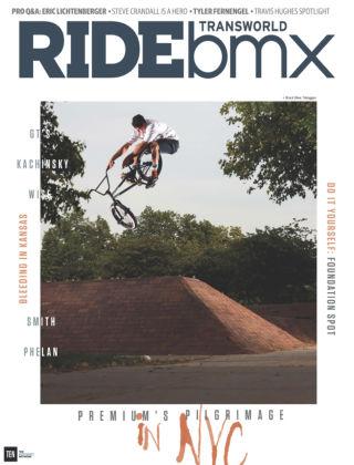 TransWorld Ride BMX Sept / Oct 2015