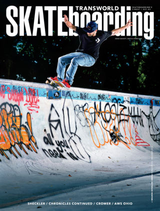 Transworld Skateboarding December 2013