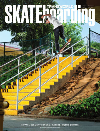 Transworld Skateboarding October 2013