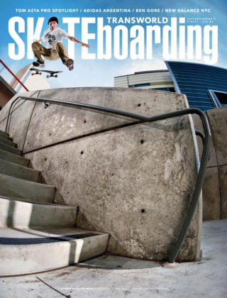 Transworld Skateboarding April 2014