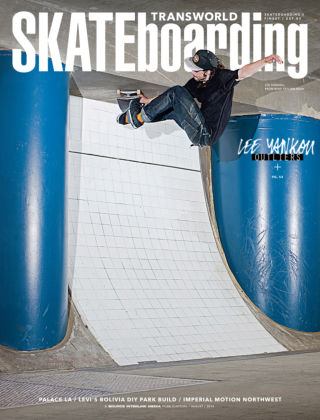 Transworld Skateboarding August 2014