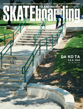 Transworld Skateboarding September 2014