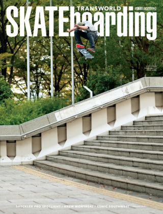 Transworld Skateboarding January 2015