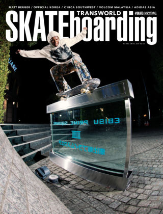 Transworld Skateboarding April 2015
