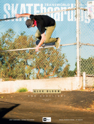 Transworld Skateboarding May 2015