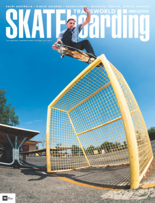 Transworld Skateboarding July 2015