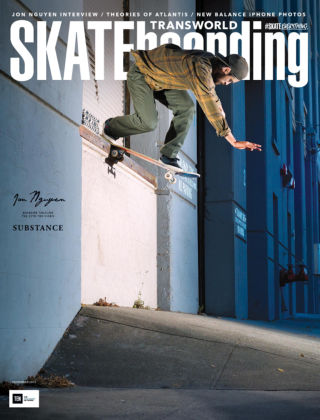 Transworld Skateboarding November 2015