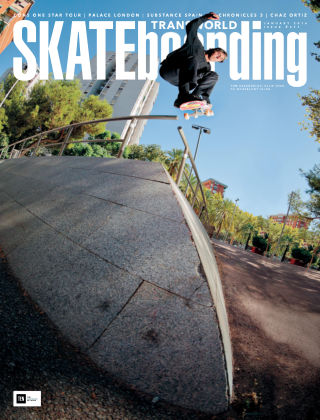 Transworld Skateboarding Jan 2016