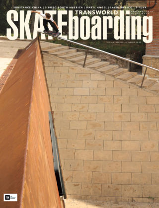 Transworld Skateboarding Feb 2016
