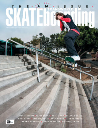 Transworld Skateboarding Aug 2016