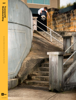Transworld Skateboarding Jul-Aug 2017