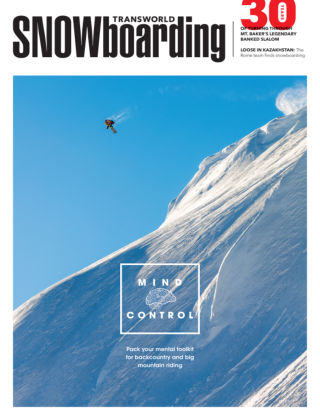 TransWorld Snowboarding February 2015