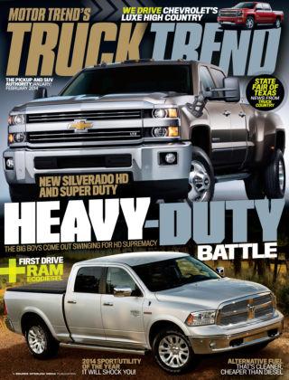 Truck Trend Jan / Feb 2014