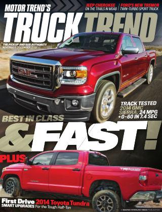 Truck Trend Nov / Dec 2013