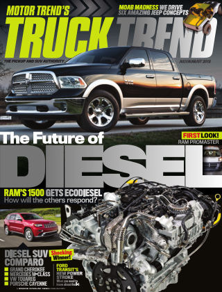 Truck Trend Jul / Aug 2013