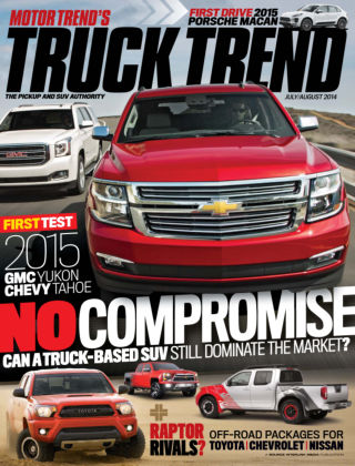 Truck Trend July / August 2014