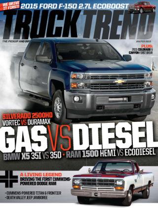 Truck Trend Jan / Feb 2015
