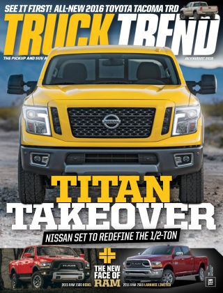 Truck Trend July / August 2015